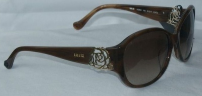Anna Sui Sunglasses AS 860 105 Brown