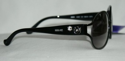 Anna Sui Sunglasses AS 867 001 Black