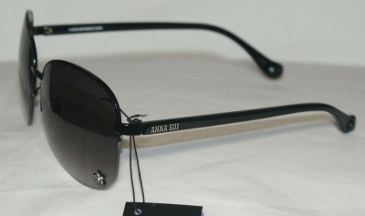 Anna Sui Sunglasses AS 870 001 S Black
